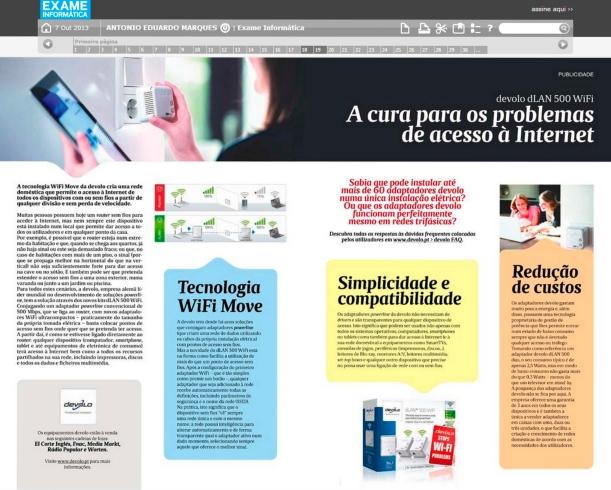 Exame Informática | Devolo