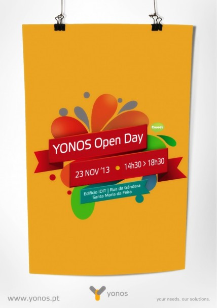 Cartaz YONOS Open Day