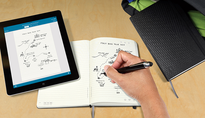 Capture as suas ideias com o novo Moleskine e a Smartpen da Livescribe