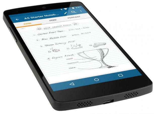 Smartpen 3 já é compatível com sistema operativo Android