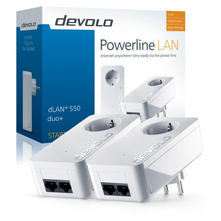 dLAN® 550 duo+