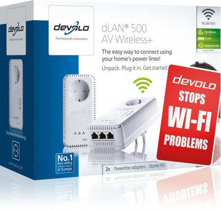 dLAN® 500 AV Wireless+