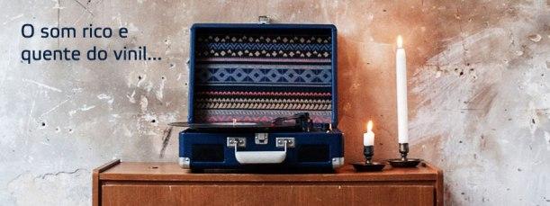 Gira-discos Portátil Crosley Cruiser