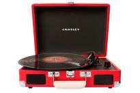 Gira-discos Portátil Crosley Cruiser I Vermelho