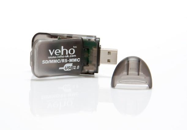 Leitor de Cartões SD-USB Veho